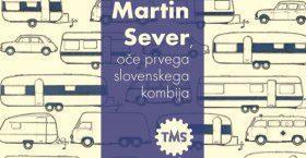Naslovna slika za razstavo Martin Sever